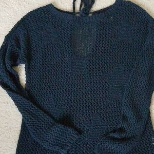 Hollister Sweaters - Hollister blue loose fit sweater xs